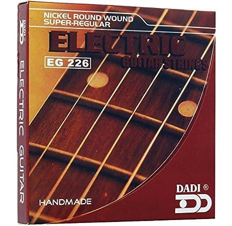 Dadi EG226 Juego de Cuerdas Para Guitarra Eléctrica: Amazon.es: Instrumentos musicales