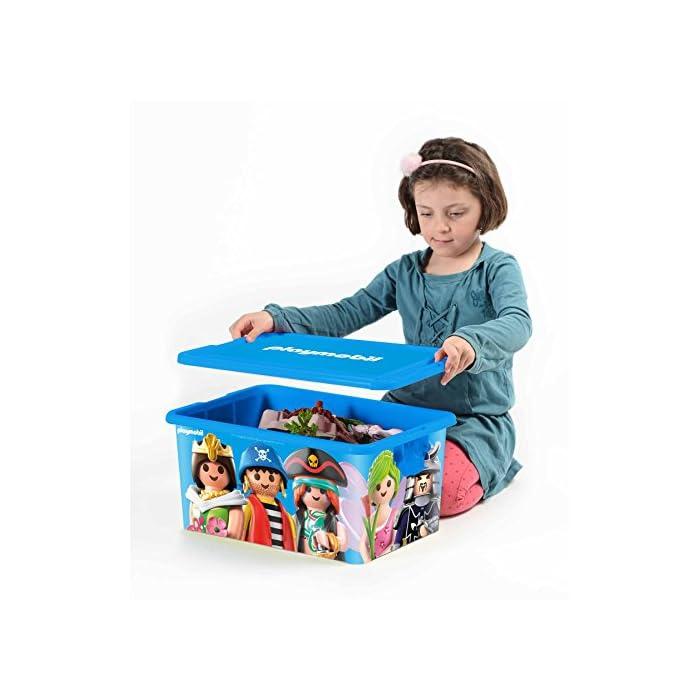 51D3M4FGDsL Playmobil envahit su cámara para la Ranger con esta caja divertida y práctica. La caja compartimentée adicional es ideal para guardar los pequeños accesorios. Cajas creadas por My Note Deco.