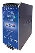 RECOM POWER REDIN240-48 AC/DC DIN Rail Power Supply Adjustable Fixed 1 Output 85 V 264 V 240 W 48 V
