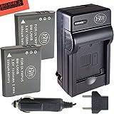 BM Premium Pack of 2 LI-90B, LI-92B Batteries and Charger for Olympus Tough TG-Tracker, Tough SH-1, SH-2, SP-100, SP-100 IHS, SP-100EE, Tough TG-1 iHS, Tough TG-2 iHS, Tough TG-3, Tough TG-4, SH-50 iHS, SH-60, XZ-2 iHS Digital Camera