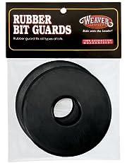 Weaver Leather Rubber Bit Guard Black