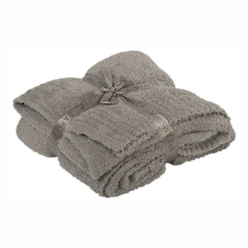 Barefoot Dreams Cozy Chic Throw Blanket, Dove 54