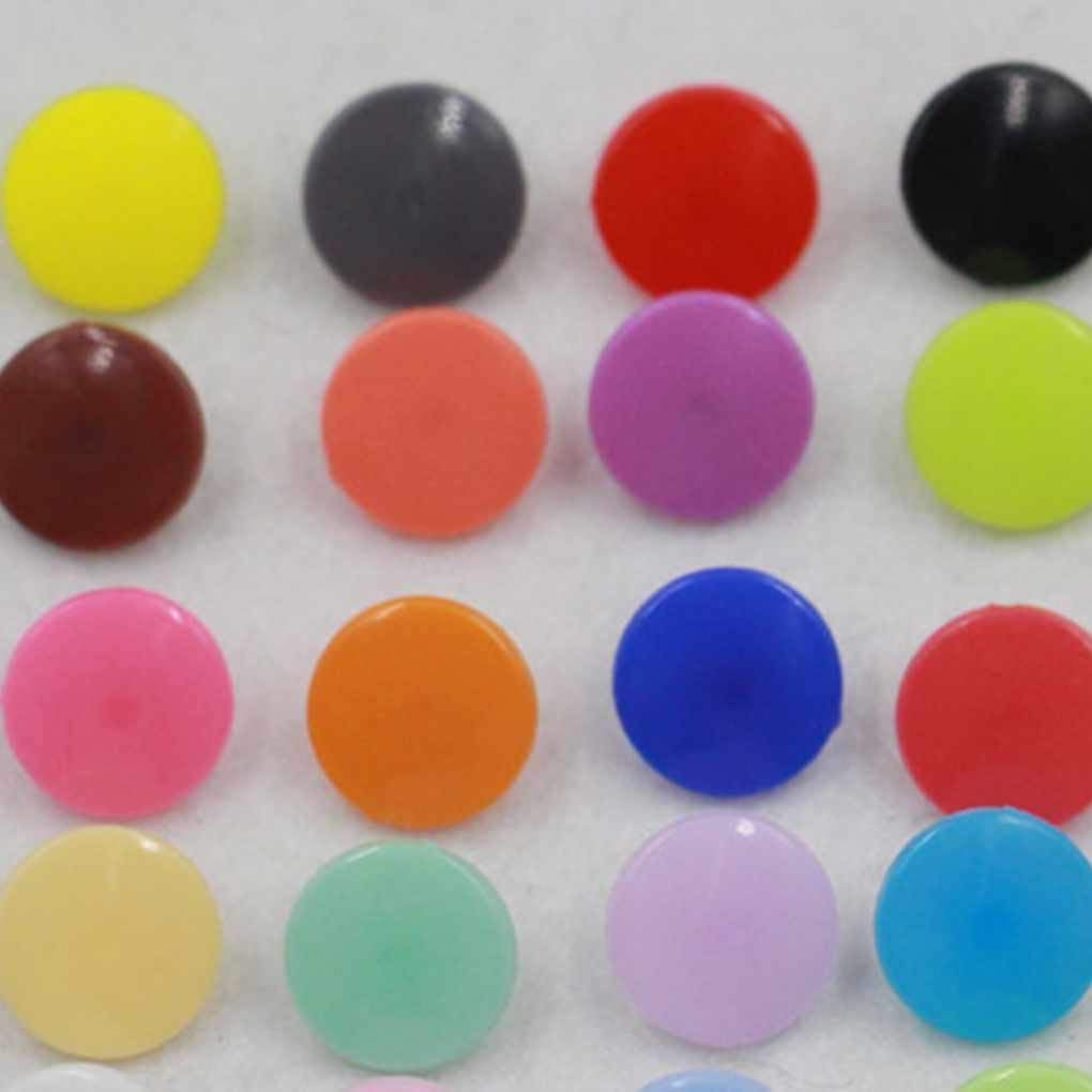 Provide The Best 150//250 Sets//Lot T5 12MM Round Plastic Snaps Button Fasteners Baby Clothes Clips Quilt Cover Sheet Resin Button