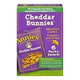 Annie's Homegrown Cheddar Bunnies Baked Snack Crackers, 6-Count, 170 Gram