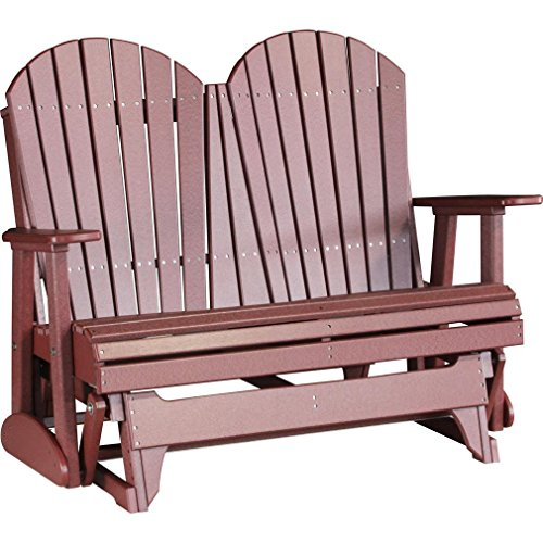 LuxCraft Recycled Plastic 4′ Adirondack Glider Chair Review