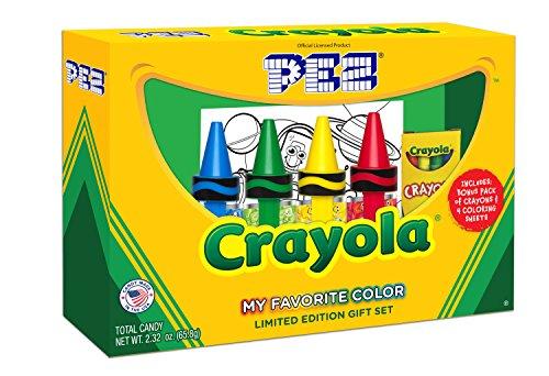 PEZ Candy Crayola Gift Set, 9.6 (Pez Candy Inc)