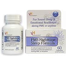vH essentials Nighttime Sleep Supplement with Valerian Root & Melatonin, 60 Count Capsules