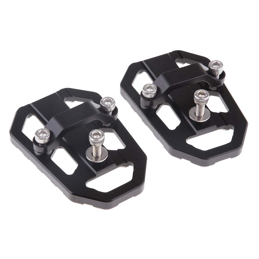 D DOLITY 2pcs Wide Footpeg Foot Pegs Pedals Heavy Duty For HONDA NC700X//S 2014-2018