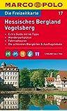MARCO POLO Freizeitkarte Hessisches Bergland, Vogelsberg 1:100.000 (MARCO POLO Freizeitkarten)