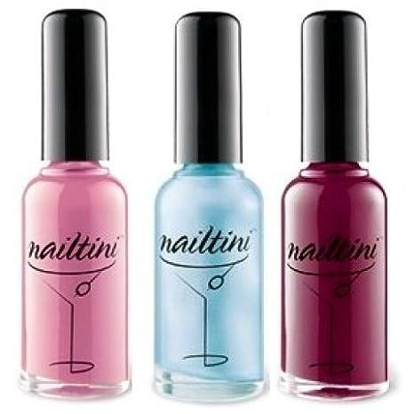 Amazon.com : Tini Beauty Nailtini Straight Up Color Nail Lacquer ...
