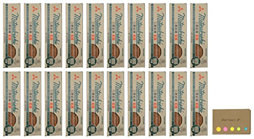 Uni Mitsubishi 9800EW Recycling Pencil, B, 20-pack/total 240 pcs, Sticky Notes Value Set by Stationery JP (Image #2)