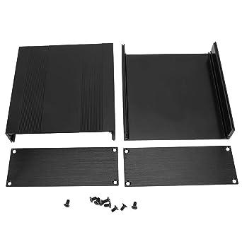 Nitrip Aleación de aluminio negro Caja de placa de circuito ...