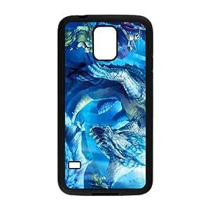 Monster Hunter P2Y02 funda caso T3S0GX funda Samsung Galaxy S5 teléfono celular cubren WX4EMF1KV negro