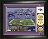 The Highland Mint Baltimore Ravens Single Coin Stadium Photo Mint