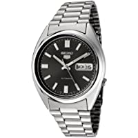 Seiko Men's 5' Japanese Automatic Stainless Steel Casual Watch, Color:Silver-Toned (Model: SNXS79K)