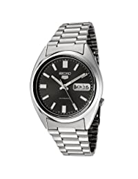 Seiko Men's 5 Automatic SNXS79K Silver Stainless-Steel Automatic Watch