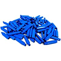 500 Pieces Blue Gel Wet B Connectors Telephone Alarm Wire Crimp Beanies Splice