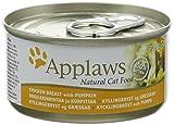 Applaws Chicken and Pumpkin Can 24 x 70 g