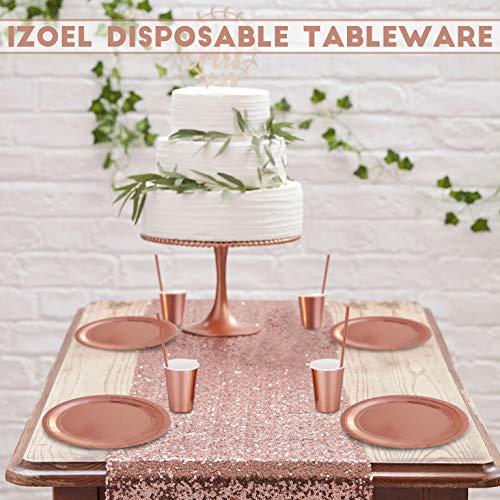 24 Frau Wundervoll Einweg Pappteller rosa Punkte Partyteller Catering