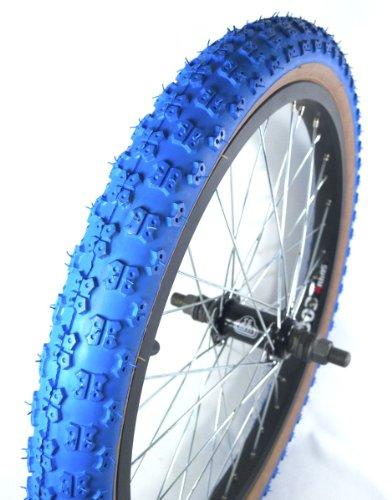 "SE Bikes Kenda Comp III Style BMX Tire Blue Gum Wall 20x1.75"""