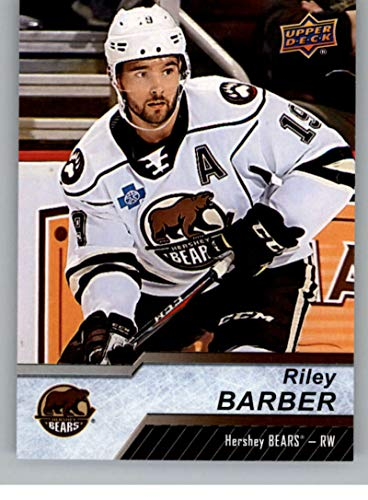2018-19 Upper Deck AHL Hockey #63 Riley Barber Hershey Bears Official UD American Hockey League Trading Card