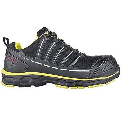 Toe Guard tg8051048 Sprinter – Zapatos de seguridad S3 ESD SRC talla 48 negro/limón