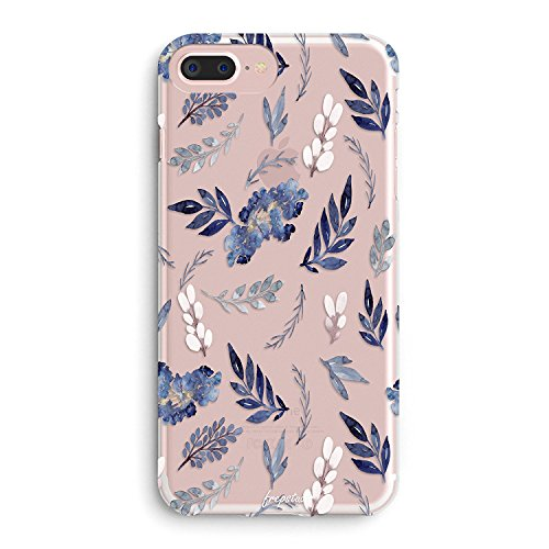 e 6 Case,Aloha Summer Tropical Purple Plants Leaves Succulents Cactus Indoor Plant Summer Beach Girls Flowers Floral Roses Case for Women Clear Soft Case for iPhone 6/iPhone 6s ()