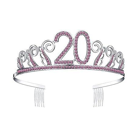 stripei Cristal Diadema Corona Cumpleaños Tiara Brillantes ...