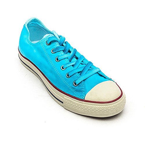 Converse Chuck Taylor All Star Wash Ox - Zapatillas de Deporte de canvas Unisex Blu