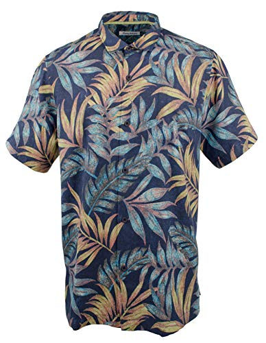 (Tommy Bahama Men's Big & Tall Parque Palms Camp Shirt-RA-XLT)
