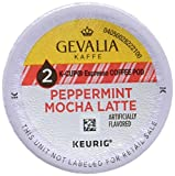 GEVALIA Peppermint Mocha Latte K-Cup Pods Coffee, 9 Count