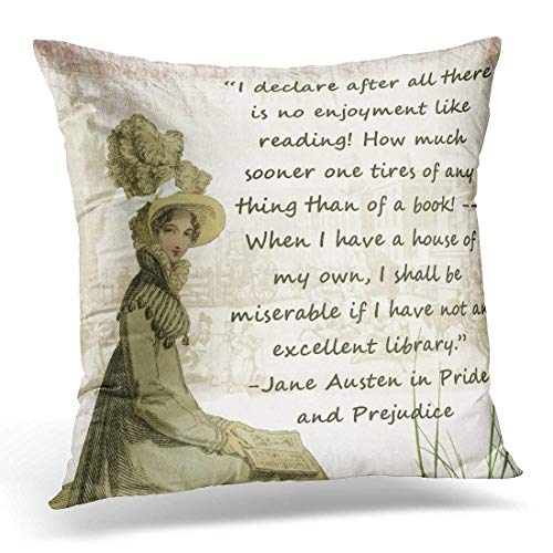 throw pillow cover quote elizabeth