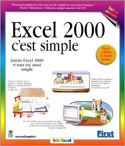 Lire Excel 2000, c'est simple pdf, epub ebook