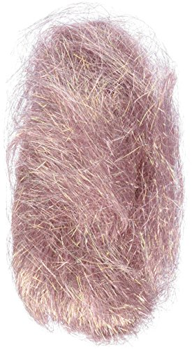 - Embellishment Village Angelina Straight Cut Fibers 1/2 Ounce-Dusty Rose