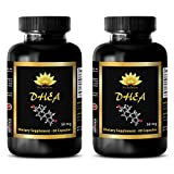 Testosterone booster for muscle growth - DHEA (Dehydroepiandrosterone) - Dhea dehydroepiandrosterone - 2 Bottles 120 Capsules