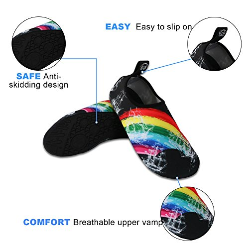 Yoga Design Black Aqua Socks Barefoot Shoes Sports Slip Shoes Dry Shoes Diving Quick On Outdoor Water NeuFashion nWcvCC