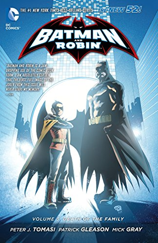 Batman and Robin, Vol. 3: Death of the Family (The New 52) (Games Batman Robin)