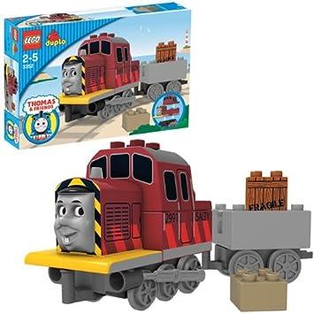 LEGO DUPLO 3352 Thomas & Friends Salty the Dockyard Diesel: Amazon ...