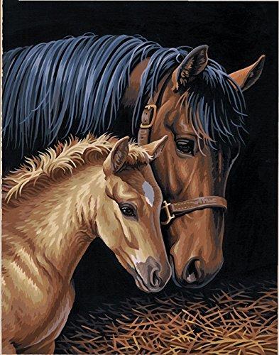 Pintura por Numeros (18624965) caballos