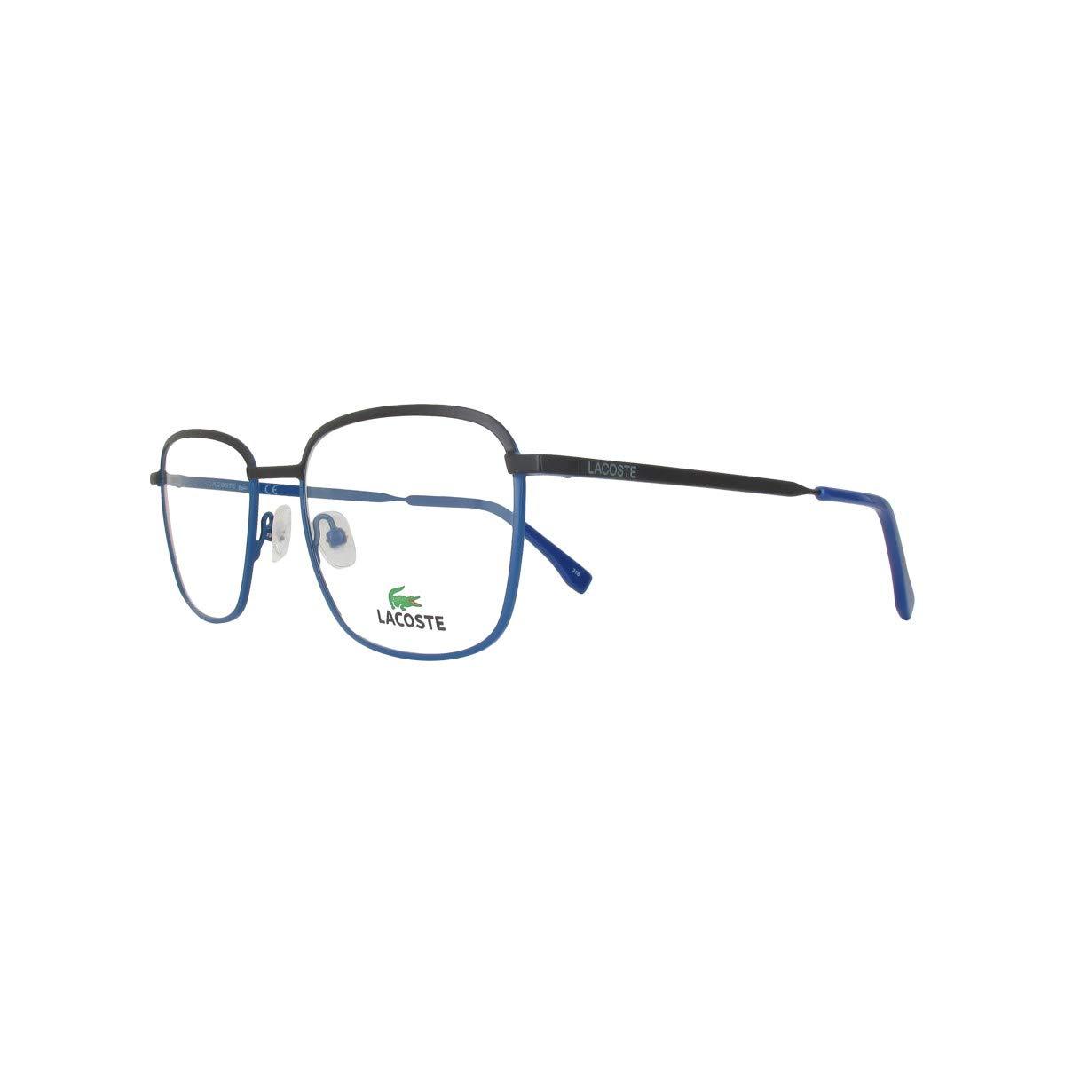 4419754e2ac Amazon.com  New Lacoste Rx Prescription Eyeglasses - L2222 424 - Matte  Blue  Clothing