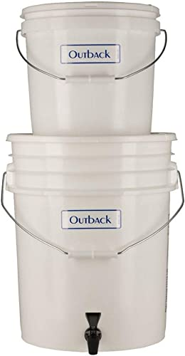 Outback Plus Gravity Water Filter System for Emergency Purification Removes 99.99 Viruses and 99.9999 Bacteria Survival Filter for 6-12 Gallons Per Day Portable OB-25NF