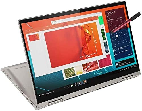 "2020 Lenovo Yoga C740 2-in-1 14"" FHD Touchscreen Laptop Computer, Intel Quad-Core i5-10210U (Beats i7-7500U), 8GB DDR4 RAM, 512GB PCIe SSD, Windows 10, BROAGE 64GB Flash Stylus, Online Class Ready"