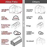 Abba Patio Extra Large Heavy Duty Carport with