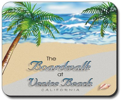 The Boardwalk - Art Plates brand Mouse Pad