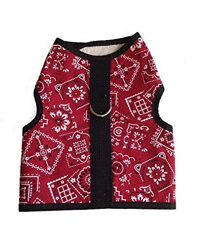 best cat harness - Kitty Holster Cat Harness, Small/Medium, Red Bandana