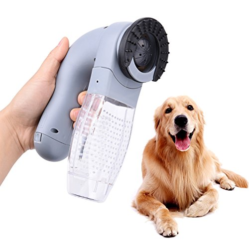 Zerlar Pet Electric Hair Suction Also Clothes Suck Cleaner With Portable Massage Vacuum