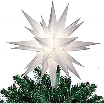Amazon Com Jack Kimmel Moravian Light Tree Topper Home