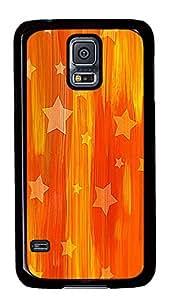 Samsung S5 case cool Falling Stars PC Black Custom Samsung Galaxy S5 Case Cover