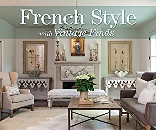 Book Cover: French Style with Vintage Finds