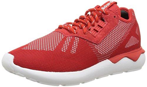 Runner Rosso Weave scarlet Da white Scarpe rouge Uomo Tubular scarlet Adidas Running FSx0CC